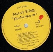 Double LP - The Rolling Stones - Exile On Main St. - INCUDES POSTCARDS