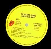 LP - The Rolling Stones - Goats Head Soup