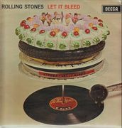 LP - The Rolling Stones - Let It Bleed - UK Blue Boxed Decca + Poster