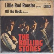7inch Vinyl Single - The Rolling Stones - Little Red Rooster / Off The Hook - picture sleeve