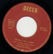 7'' - The Rolling Stones - Mothers Little Helpers / Lady Jane - label sleeve