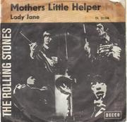 7inch Vinyl Single - The Rolling Stones - Mothers Little Helpers / Lady Jane - picture sleeve