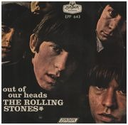 7inch Vinyl Single - The Rolling Stones - Out Of Our Heads - Original Mexican EP