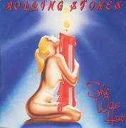7inch Vinyl Single - The Rolling Stones - She Was Hot / I Think I'm Going Mad - picture sleeve