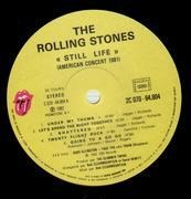 LP - The Rolling Stones - Still Life (American Concert 1981)