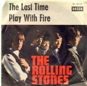 7'' - The Rolling Stones - The Last Time / Play With Fire - picture sleeve