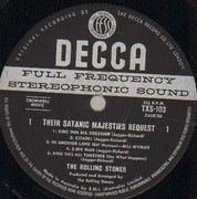 LP - The Rolling Stones - Their Satanic Majesties Request - Original 1st Australian