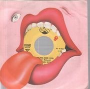 7inch Vinyl Single - The Rolling Stones - Tumbling Dice / Sweet Black Angel - picture sleeve