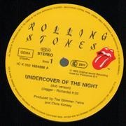 12'' - The Rolling Stones - Undercover Of The Night