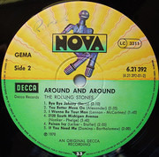LP - The Rolling Stones - Around And Around