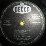 LP - The Rolling Stones - Beggars Banquet - Rare  Yugoslavian