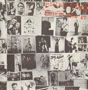 Double LP - The Rolling Stones - Exile On Main St. - Red letters