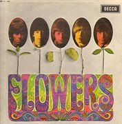 LP - The Rolling Stones - Flowers - Original UK, Unboxed Export Decca