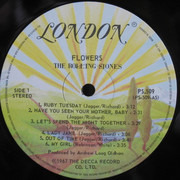 LP - The Rolling Stones - Flowers - Canada