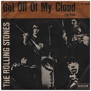 7inch Vinyl Single - The Rolling Stones - Get Off Of My Cloud / I'm Free - picture sleeve