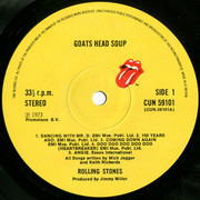 LP - The Rolling Stones - Goats Head Soup - UK