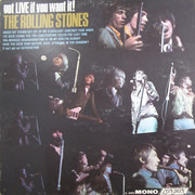 LP - The Rolling Stones - Got Live If You Want It! - Mono