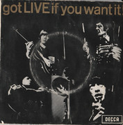 7inch Vinyl Single - The Rolling Stones - Got Live If You Want It! - Original Australian EP