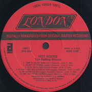 Double LP - The Rolling Stones - Hot Rocks 1964-1971 - Gatefold