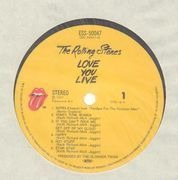 Double LP - The Rolling Stones - Love You Live