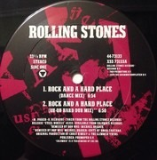 12inch Vinyl Single - The Rolling Stones - Rock And A Hard Place