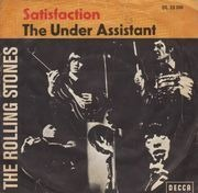 7inch Vinyl Single - The Rolling Stones - Satisfaction / The Under-Assistant West Coast Promotion Man - picture sleeve