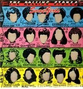 LP - The Rolling Stones - Some Girls - die-cut sleeve