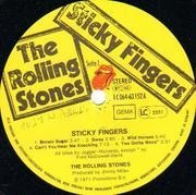LP - The Rolling Stones - Sticky Fingers - REAL METAL ZIPPER