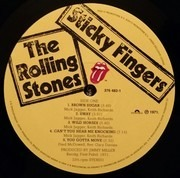 LP - The Rolling Stones - Sticky Fingers - DELUXE 180 GRAMS VINYL + DOWNLOAD - INCL.BONUS TR