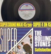 12inch Vinyl Single - The Rolling Stones - Super 4 On 45