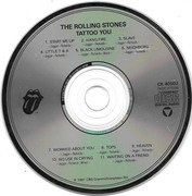 CD - The Rolling Stones - Tattoo You - DADC Pressing