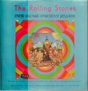 LP - The Rolling Stones - Their Satanic Majesties Request - Original Isreali Press