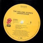 LP - The Rolling Stones - Undercover - OBI