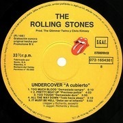 LP - The Rolling Stones - Undercover - Spain