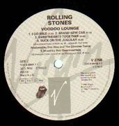 Double LP - The Rolling Stones - Voodoo Lounge