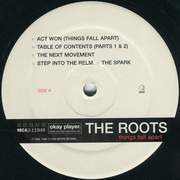 Double LP - The Roots - Things Fall Apart - Still sealed, 180g