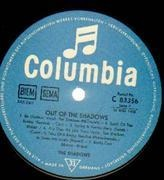 LP - The Shadows - Out Of The Shadows - GERMAN ORIGINAL