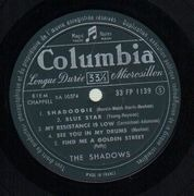 10'' - The Shadows - Dance With The Shadows - Original French 10'