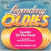 7inch Vinyl Single - The Shangri-Las - Leader Of The Pack