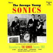 CD - The Sonics - The Savage Young Sonics