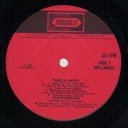 LP - The Sorrows - Take A Heart - Original 1st UK Mono