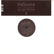12inch Vinyl Single - The Source - You Got The Love
