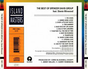 CD - Spencer Davis Group - The Best Of  Spencer Davis Group Featuring Steve Winwood