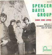 7inch Vinyl Single - The Spencer Davis Group - Gimme Some Loving - Original Portuguese EP