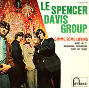 7inch Vinyl Single - The Spencer Davis Group - Gimme Some Loving - Original French EP