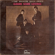 7inch Vinyl Single - The Spencer Davis Group - Gimme Some Loving - Original Spanish EP