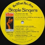 LP - The Staple Singers - Be What You Are - Monarch Pressing