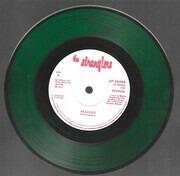 7inch Vinyl Single - The Stranglers - Peaches / Go Buddy Go - green vinyl