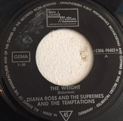 7inch Vinyl Single - The Supremes And The Temptations - The Weight