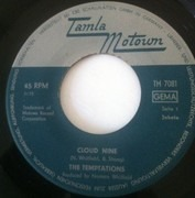 7inch Vinyl Single - The Temptations - Cloud Nine
